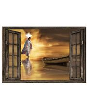 Jesus through the window poster 24x16 Poster front