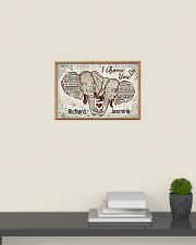 Elephant I choose you custom personali name poster 24x16 Poster poster-landscape-24x16-lifestyle-09