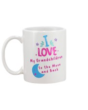 I love my grandchildren to the Moon and back mug Mug back