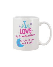 I love my grandchildren to the Moon and back mug Mug front