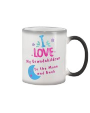 I love my grandchildren to the Moon and back mug Color Changing Mug thumbnail