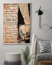 I'm not a widow i'm a wife to a beautiful poster 11x17 Poster lifestyle-poster-1
