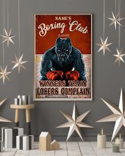 Boxing club winners train losers complain poster 11x17 Poster lifestyle-holiday-poster-1