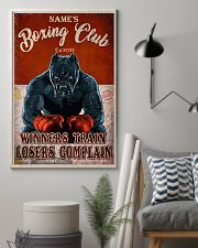 Boxing club winners train losers complain poster 11x17 Poster lifestyle-poster-1