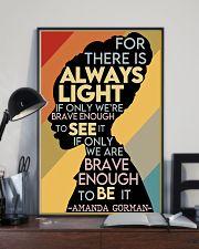 BEST Amanda Gorman the hill we climb poster 11x17 Poster lifestyle-poster-2