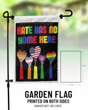 """Hate has no home here flag 11.5""""x17.5"""" Garden Flag aos-garden-flag-11-5-x-17-5-lifestyle-front-01"""
