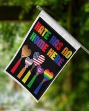 """Hate has no home here flag 11.5""""x17.5"""" Garden Flag aos-garden-flag-11-5-x-17-5-lifestyle-front-15"""
