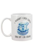 I thought I liked coffee turns out I creamer mug Mug back