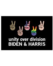 Unity over division Biden and harris  17x11 Poster thumbnail