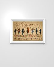 Running woman god says you are poster 24x16 Poster poster-landscape-24x16-lifestyle-02