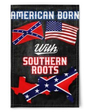 "American born with southern roots flag 11.5""x17.5"" Garden Flag front"