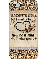 Daddy's girl I used to be his angel phone case Phone Case i-phone-8-case