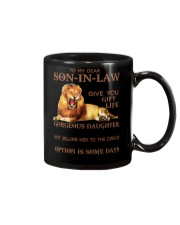 Lion To my dear son in law I didn't give you mug Mug front