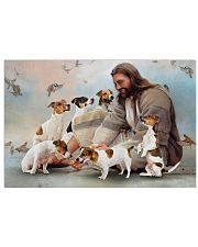God surrounded by Jack Russell Poster 24x16 Poster front