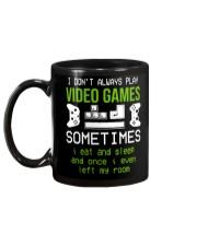 I don't always play video games mug Mug back