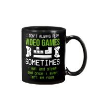 I don't always play video games mug Mug front