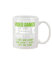 I don't always play video games mug Mug tile