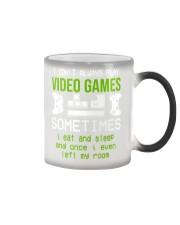 I don't always play video games mug Color Changing Mug thumbnail