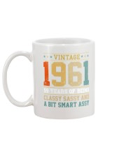 Vintage 1961 59 years of being classy sassy Mug back