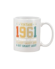 Vintage 1961 59 years of being classy sassy Mug front