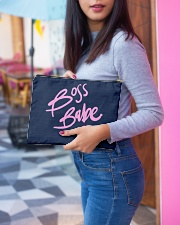 Boss Babe Accessory Pouch - Large aos-accessory-pouch-12-5x8-5-lifestyle-front-05