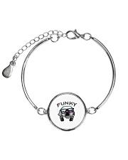 Funky Brogan Metallic Circle Bracelet thumbnail