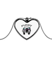 Funky Brogan Metallic Heart Necklace thumbnail