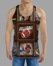 FOOTBALL  H1602 3 All-over Unisex Tank aos-tank-unisex-lifestyle01-front