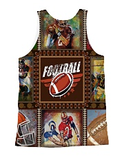 FOOTBALL  H1602 3 All-over Unisex Tank back