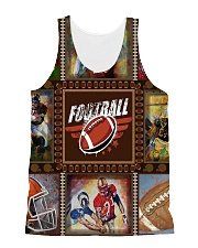 FOOTBALL  H1602 3 All-over Unisex Tank front