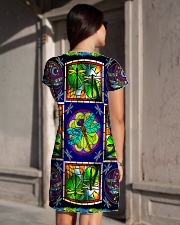 Dragonfly H1602 6 All-over Dress aos-dress-back-lifestyle-1