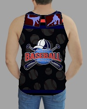 BASEBALL H1602 1 All-over Unisex Tank aos-tank-unisex-lifestyle01-back