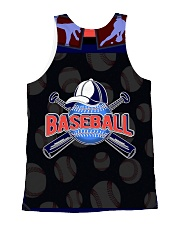 BASEBALL H1602 1 All-over Unisex Tank back