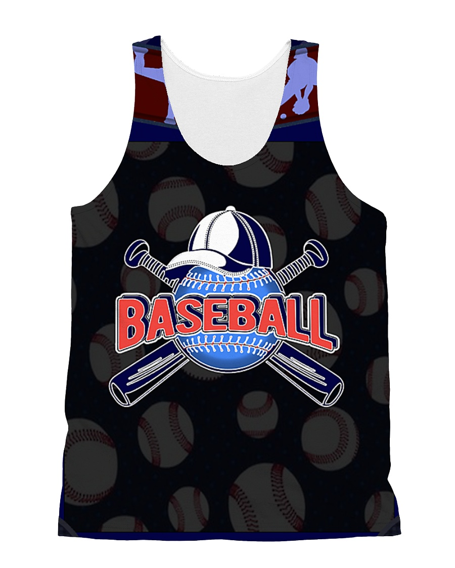 BASEBALL H1602 1 All-over Unisex Tank