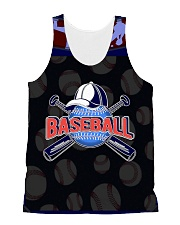 BASEBALL H1602 1 All-over Unisex Tank front