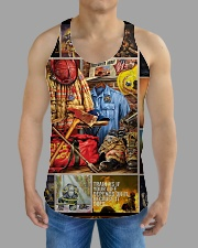 FIREFIGHTER H2202 3 All-over Unisex Tank aos-tank-unisex-lifestyle01-front