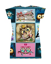 OWL H2202 1 All-over Dress back