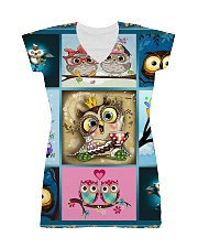 OWL H2202 1 All-over Dress front