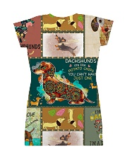 DACHSHUND H2002 1 All-over Dress back