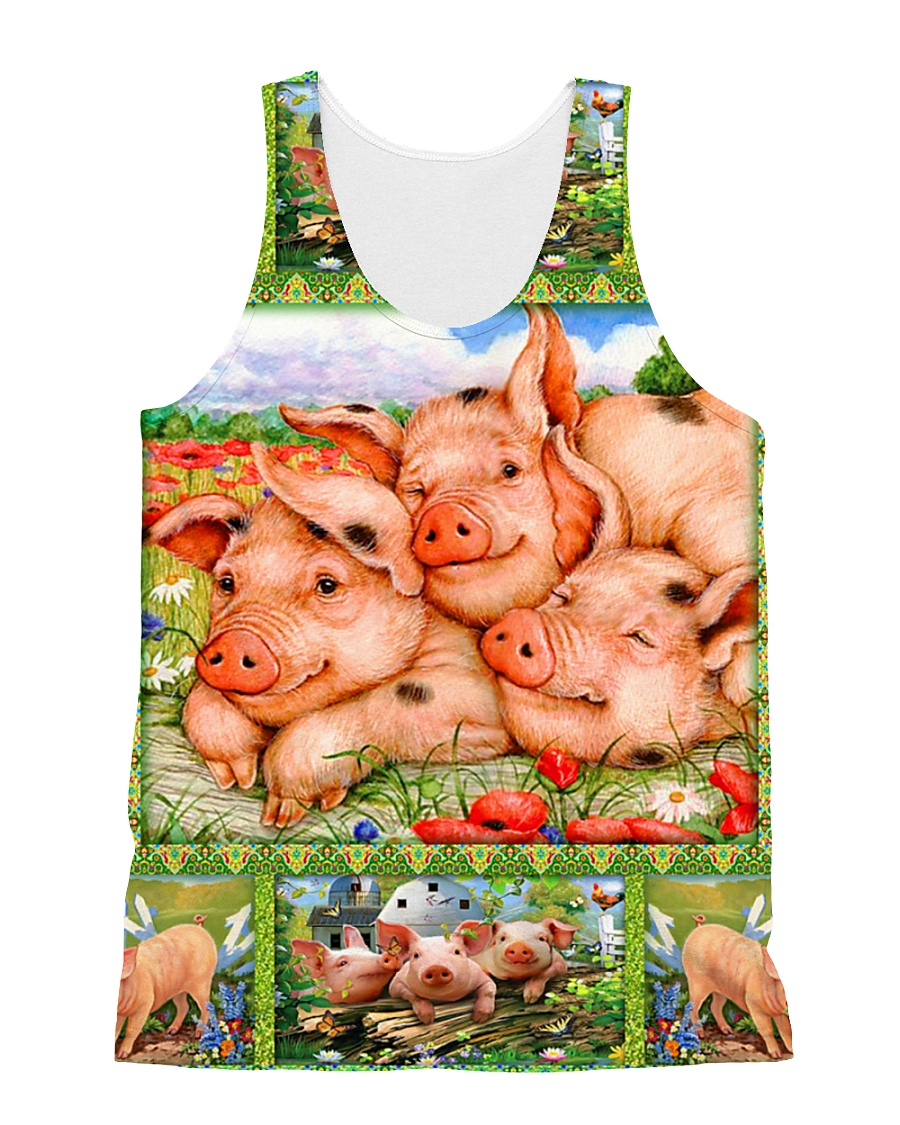 Pig H1602 1 All-over Unisex Tank