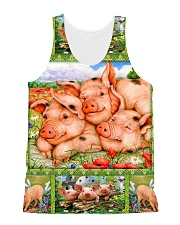 Pig H1602 1 All-over Unisex Tank front