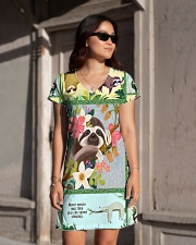 SLOTH H2002 2 All-over Dress aos-dress-front-lifestyle-1