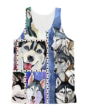 Husky H2302 1 All-over Unisex Tank thumbnail