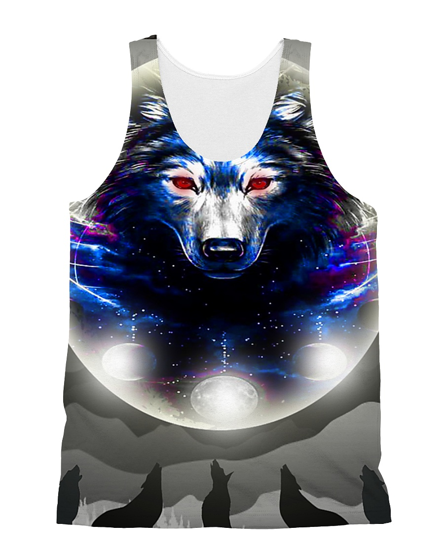 Wolf H2202 4 All-over Unisex Tank