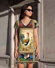 Chicken H2202 1 All-over Dress aos-dress-front-lifestyle-1