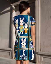 Rabbit H1902 1 All-over Dress aos-dress-back-lifestyle-1
