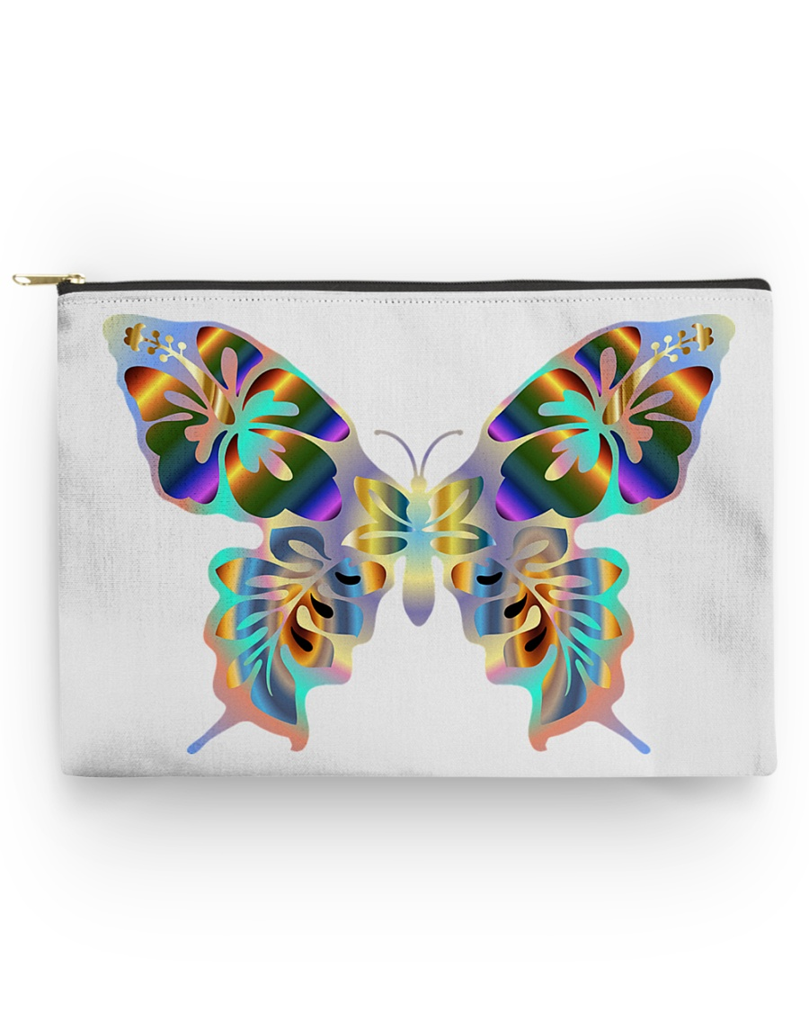 Glowing butterflies Accessory Pouch - Large