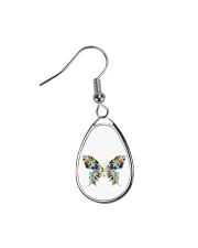 Glowing butterflies Teardrop Earrings thumbnail