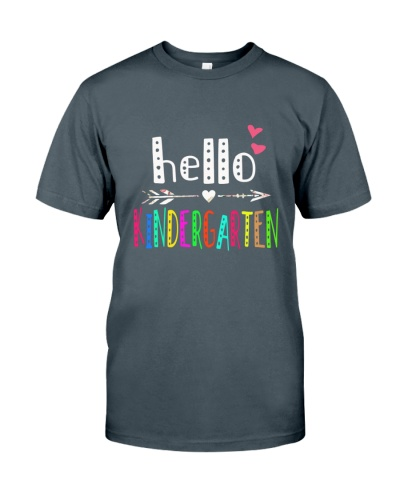HELLO KINDERGARTEN -TEAM SHIRT