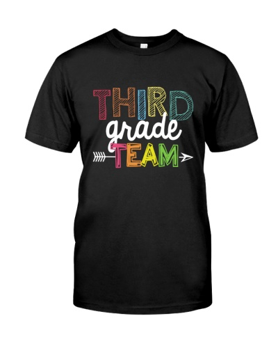 THIRD GRADE  TEAM  -TEAM SHIRT